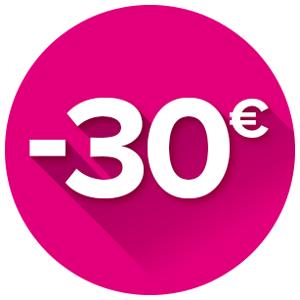 Cashback de 30€