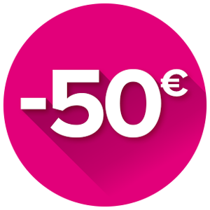 Cashback de 50€